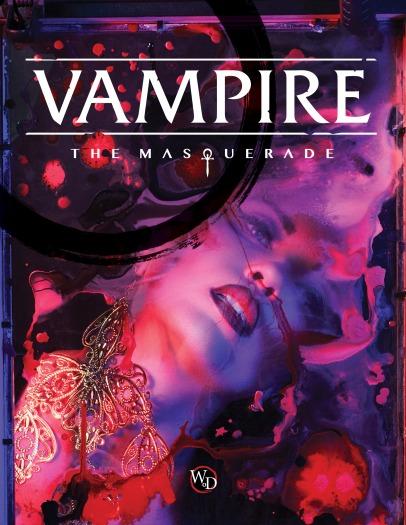 Vampire: The Masquerade - Cover Grundregelwerk - Presskit