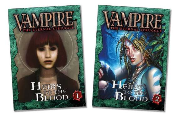 Vampire: TThe Eternal Struggle - Heirs To The Blood - Covers