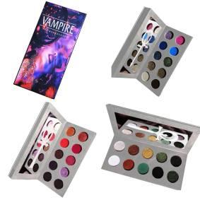 Makeup Paletten Buch plus Innenteile 2