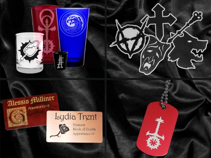 Offizielles World of Darkness Merchandise von Rusted Icon Designs