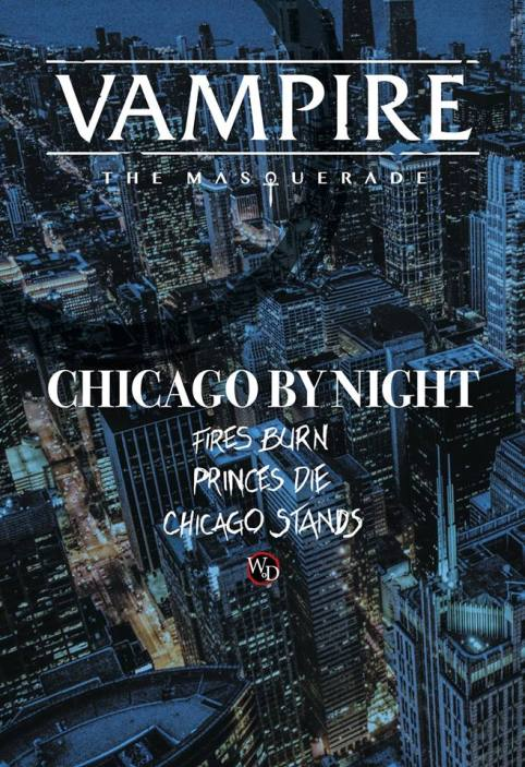 V5 - Chicago By Night - White Wolf/Onyx Path Publishing - Offizielle Graphik