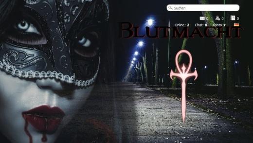 Fan Gemeinschaft - Blutmacht - Eine Vampire: The Requiem Chat Und Forenplay Community - Logo