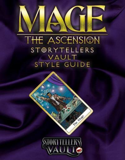 Mage: The Ascension - Storytellers Vault Style Guide - Cover