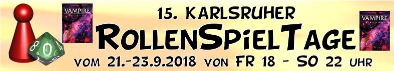 Convention: Spielt V5 auf den 15. Karlsruher RollenSpielTagen