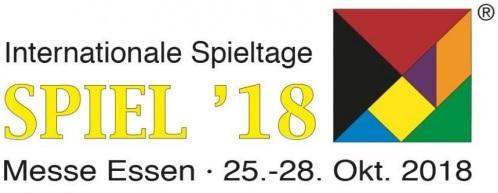 Convention: Internationale Spieltage 25.-28. Okt 2018 Messe Essen Logo