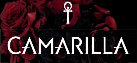 """Camarilla Schriftzug - Ausschnit aus dem Ergänzungsband """"Camarilla"""""""