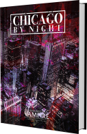 Chicago By Night - Kickstarter - Entwurf des Buchs
