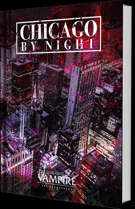 Chicago By Night - Kickstarter - Entwurf des Buchs