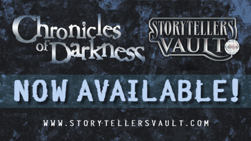 Storytellers Vault - Chronicles of Darkness - Ankündigungsgraphik