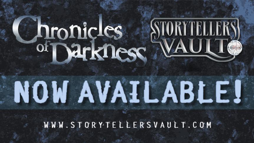 Chronicles of Darkness für Fan-Veröffentlichungen freigegeben!