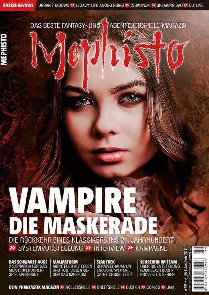 Cover der Mephisto #69 - Verlag Martin Ellermeier