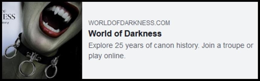 WorldOfDarkness.com wird abgeschaltet!