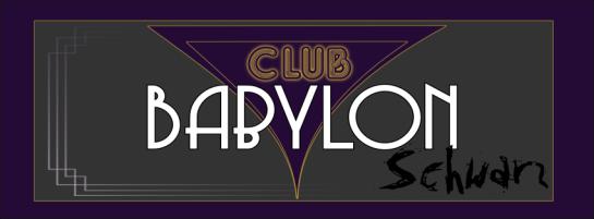 Club Babylon: Schwarz - LARP - Banner