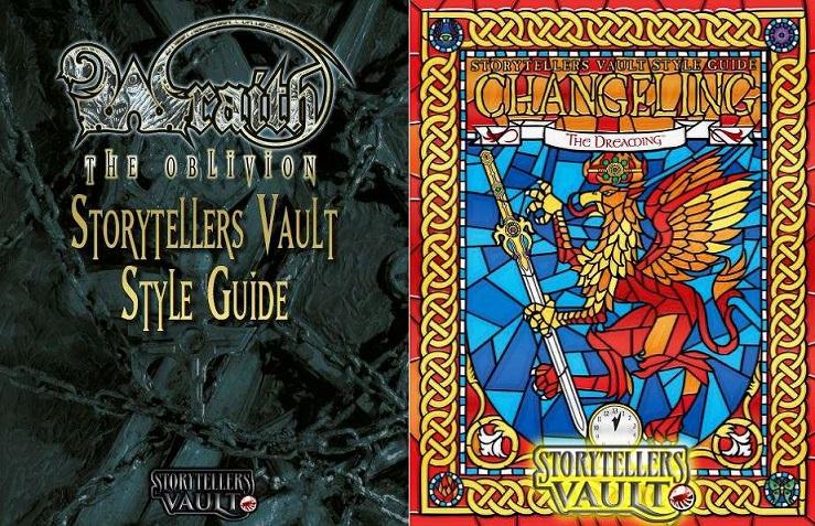 Storytellers Vault: Style Guides für Wraith: The Oblivion und Wechselbalg: DerTraum