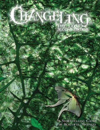 Changeling: The Second Edition - Cover - DriveThruRPG.com