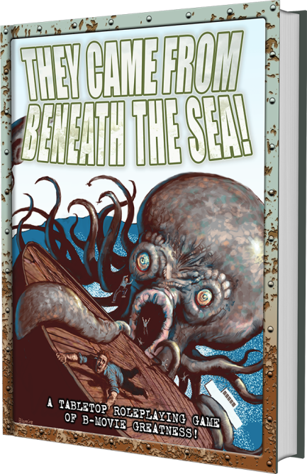 Kickstarter - They came From Beneath the Sea - Cover MockUp