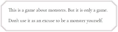 V5 - Inhaltswarnung - Zitat zum Thema Monster