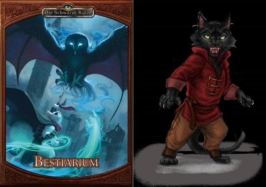 Crowdfunding - Die Schwarze Katze - Bestiarium und Vampirkatze