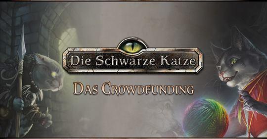 Die Schwarze Katze - Crowdfunding - Facebook Vorschau Graphik