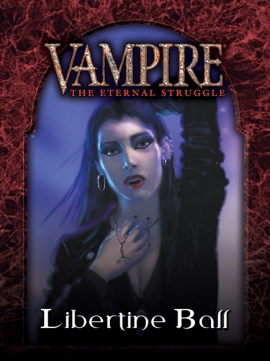 V:TES - Libtertine Ball - Cover Mock-Up von Black Chantry Productions
