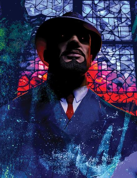 "V:TES - Parliament of Shadows - Artwork ""Charles Delmare"" von Mark Kelly"