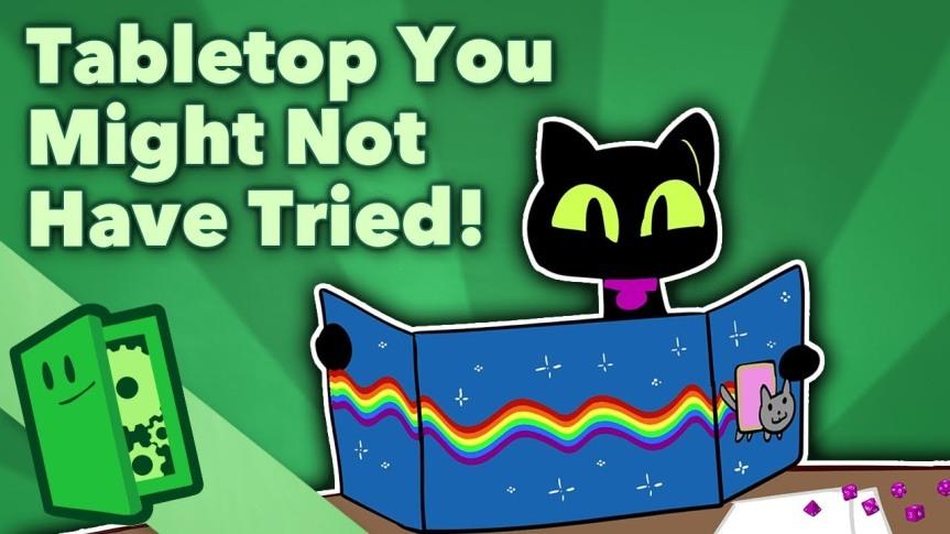 YouTube (EN): Rollenspiele, die ihr ggf. noch nicht ausprobiert habt [Über denTellerrand]