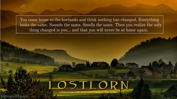Lostlorn & Fangknight Promotional Graphik von Mark Rein-Hagen