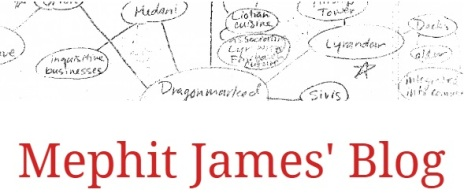 Mephit James' Blog - Header Graphik