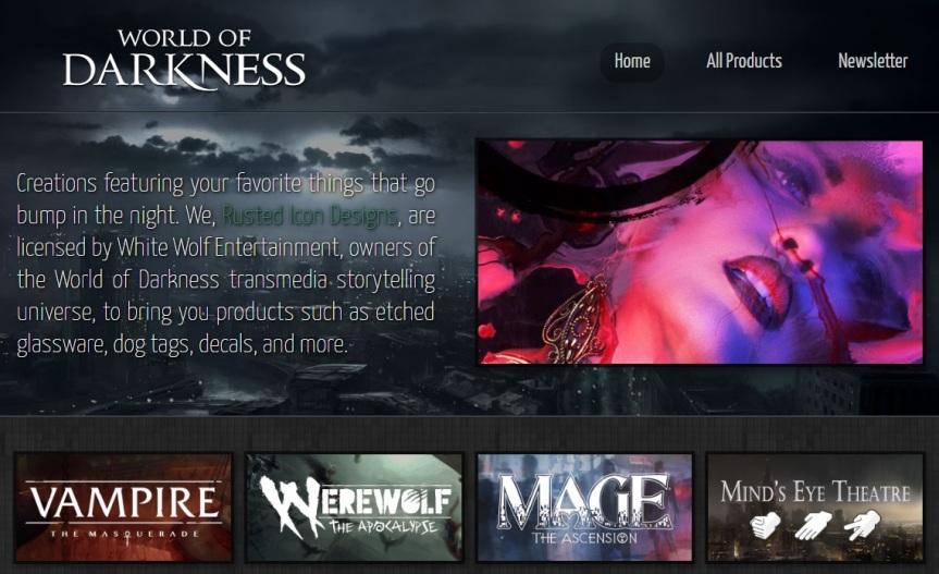 News-Happen: Vampire Triple-A Spiel(!?), WoD Merchandise von Rusted Icon und V5 inFrankreich