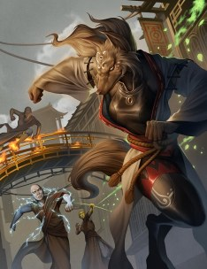 Lunars: Fangs at the Gate - Illustration - Onyx Path Project Kickstarter