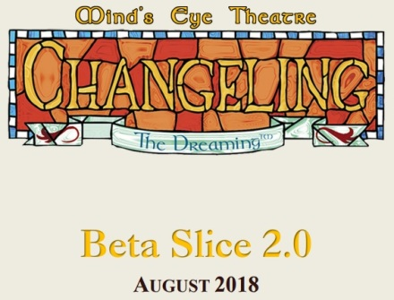 By Night Studios - Mind's Eye Theatre: Changeling the Dreaming - Beta Slice 2.0 - August - Cover