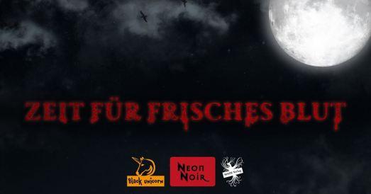 Facebook Post - MAIN Verlag - Pressemitteilung: Zeit für Frisches Blut