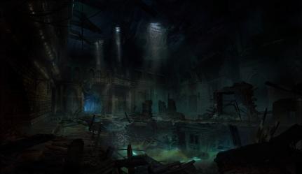 Vampire: The Masquerade Bloodlines2 - Illustration des Seattler Untergrund