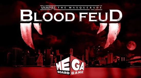 Vampire: The Masquerade - Blood Feud - Ein Mega-Brettspiel von Everything Epic