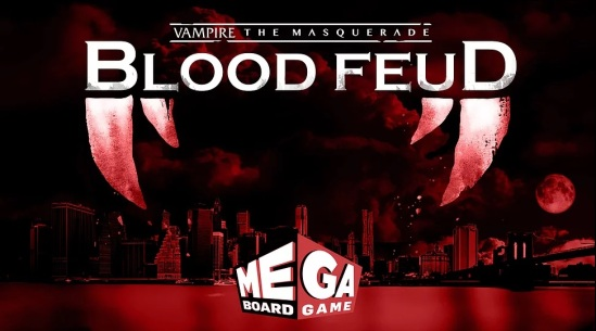 Vampire: The Masquerade - Blood Feud - Ein Mega-Brettspiel von Everything Epic