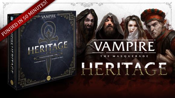 Vampire: The Masquerade Heritage - Kickstarter Tumbnail Graphik