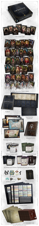 Vampire: The Masquerade Heritage - Graphik was in der normalen Box drin ist