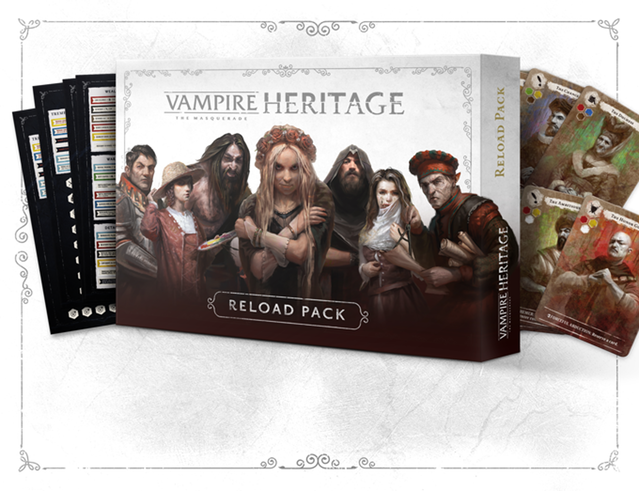 Vampire: The Masquerade Heritage - Reload Pack