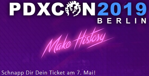 PDXcon 2019 - Ticket Jagd Newsletter