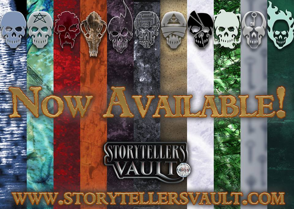 SStorytellers Vault - Banner der Chronicles of Darkness Spiele