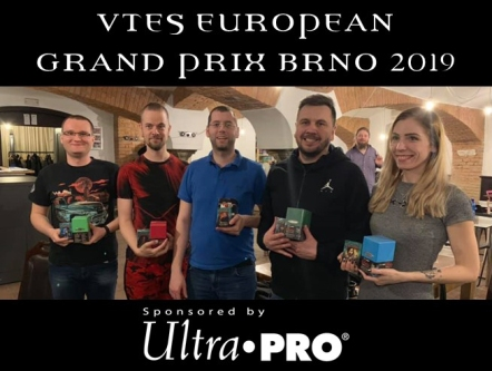 VTES European Grand Prix BRNO 2019 - Cover Graphik für den Newsletter März 2019