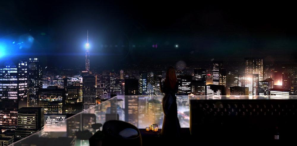Big Ben - In The Heart Of The City Graphik - Illustration zum Mystery-Vampire Titel