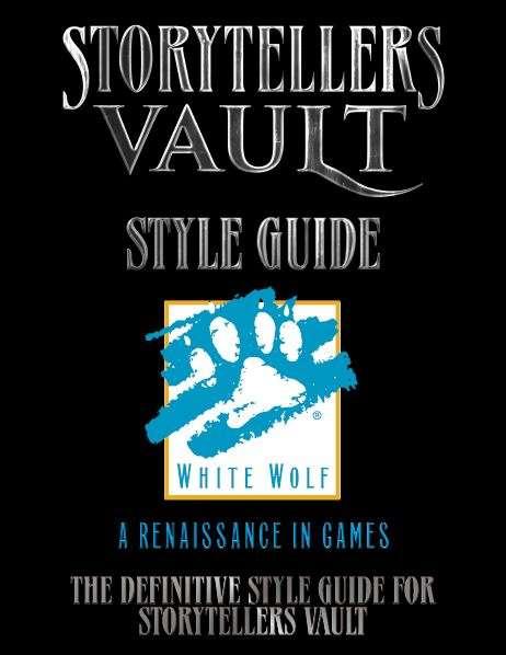 Storytellers Vault - Vorschaugraphik SV Style Guide
