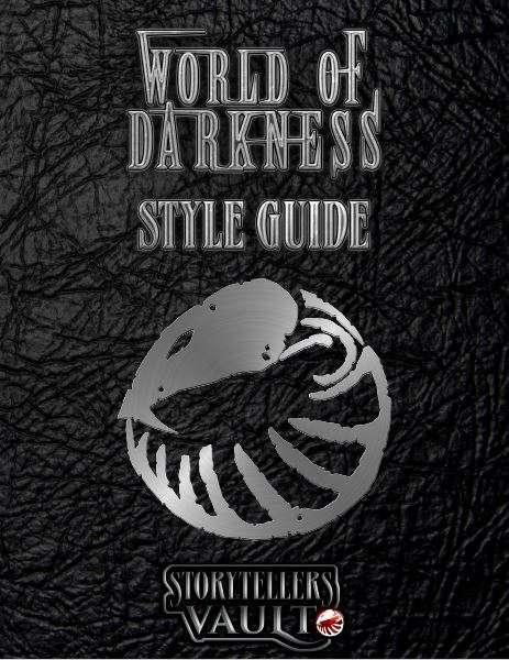 Storytellers Vault - Vorschaugraphik WoD Style Guide