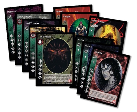 Black Chantry Productions - Vampire: The Eternal Struggle - Promo Deck 1