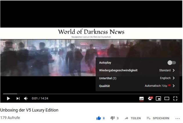 YouTube - Untertitel Erklärung 3.1 - Auf das Einstellungszahnrad