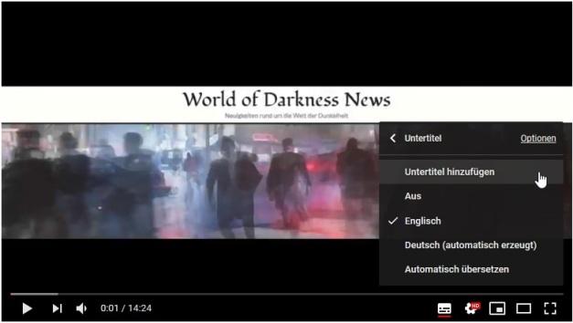 """YouTube - Untertitel Erklärung 3.1 - Auf """"Untertitel hinzufügen"""""""