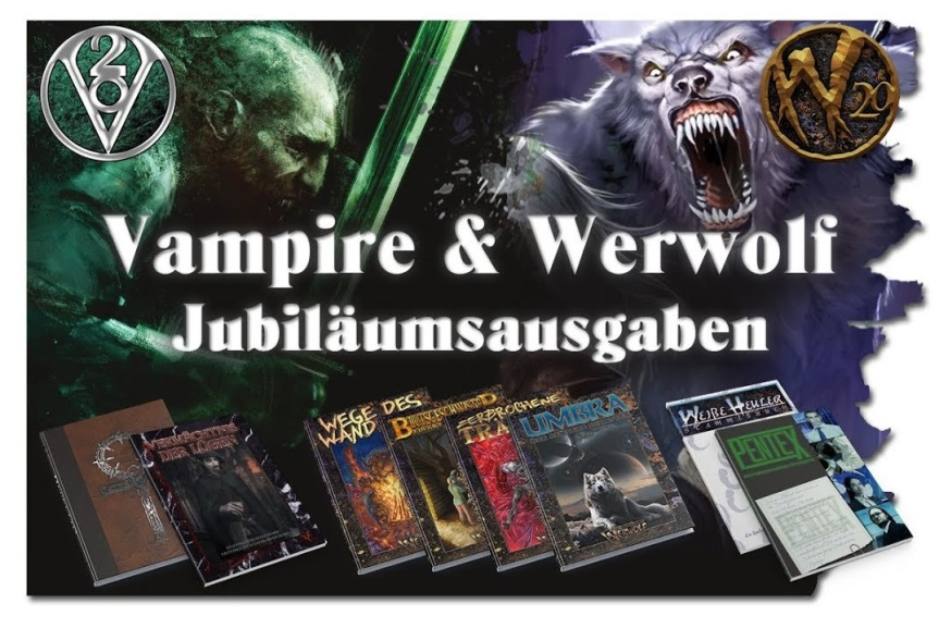Kickstarter Vorstellung – Vampire & Werwolf: Die Jubiläumsausgaben