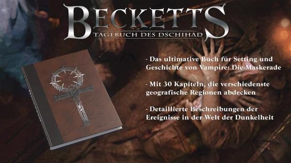 Vampire & Werwolf: Die Jubiläumsausgaben - Ulisses Spiele - Becketts Tagebuch des Dschihad