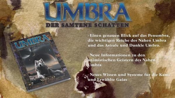 Vampire & Werwolf: Die Jubiläumsausgaben - Ulisses Spiele - Umbra Der samtene Schattten